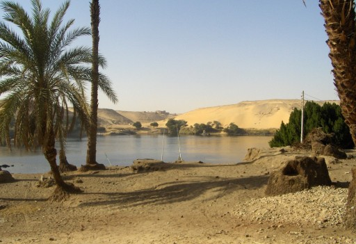Landscape at Elephantine Island, Aswan